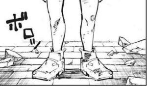 乙骨憂太 女の子 足